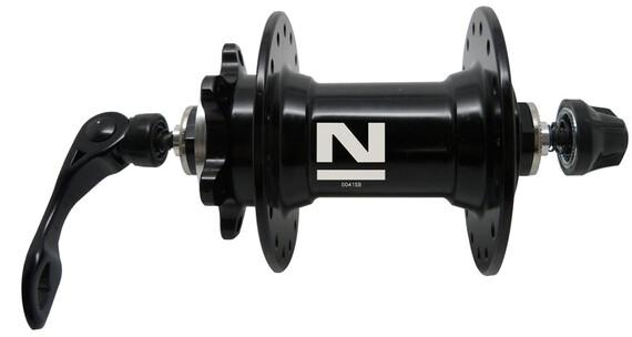 Novatec Sealed Piasta MTB Disc Szybkozamykacz czarny